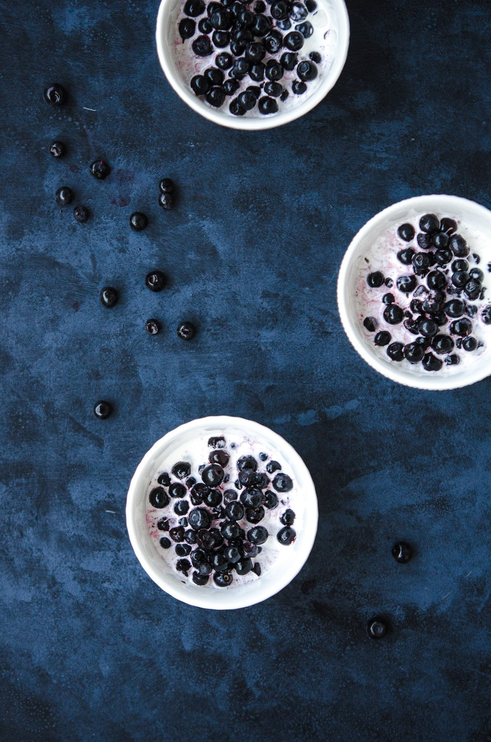 A Nordic Tradition; Blueberry in Cream