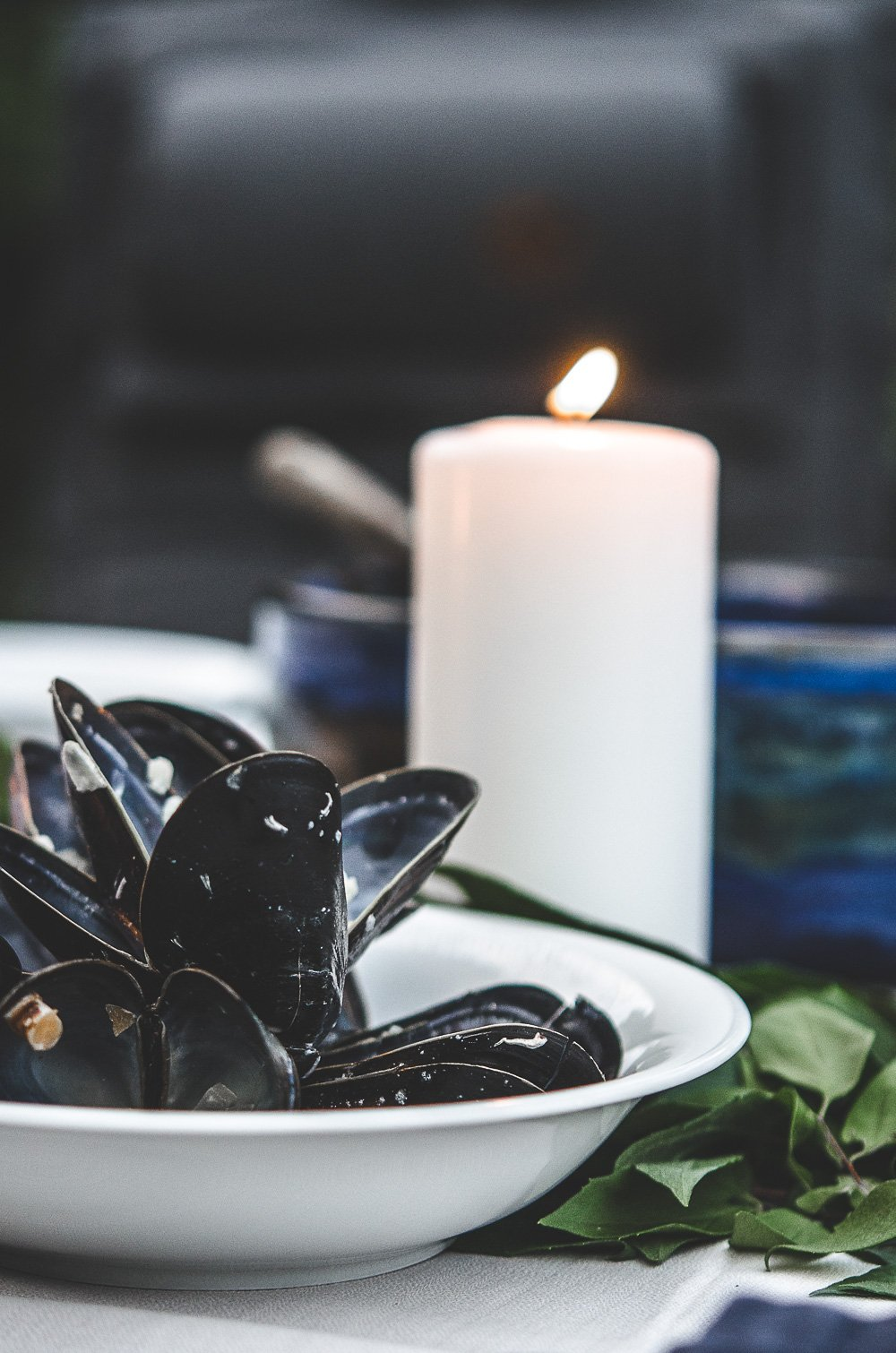 Nordic Supper; Mussel Soup from Iceland
