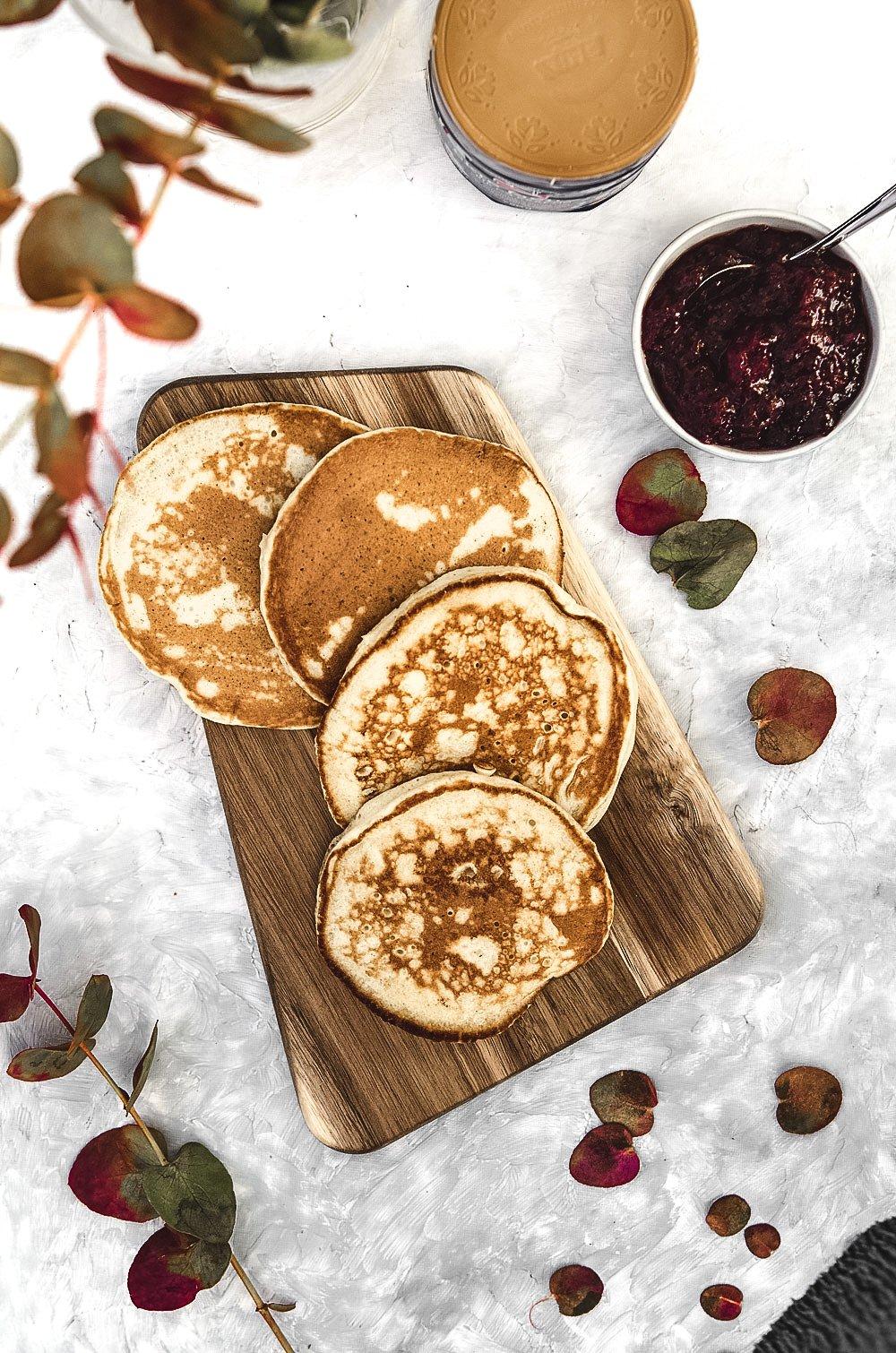 Havrelapper | Oatmeal pancakes